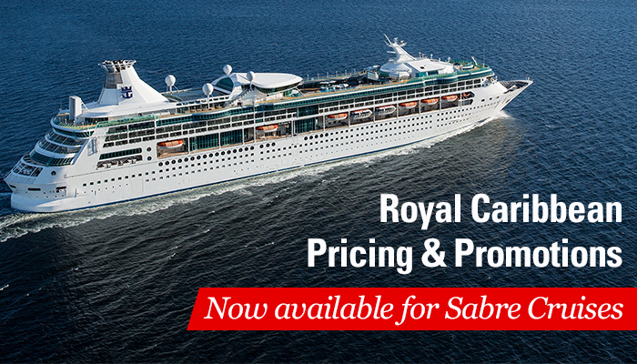 Royal Caribbean pricing and promotions