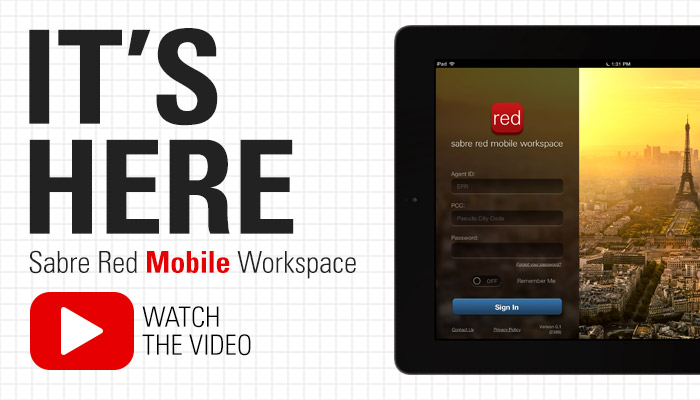 sabre red mobile workspace launch