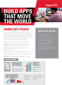 Sabre Dev Studio