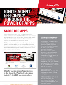 Sabre Red Apps